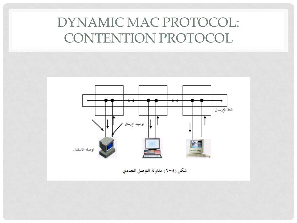 DYNAMIC MAC PROTOCOL: CONTENTION PROTOCOL