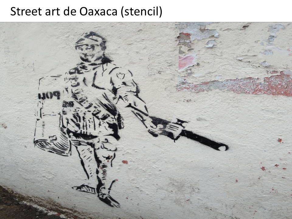 Street art de Oaxaca (stencil)