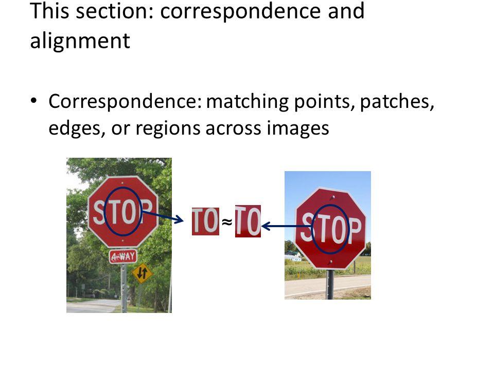 Local Descriptors: Shape Context Count the number of points inside each bin, e.g.: Count = 4 Count = 10...