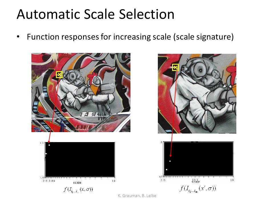 Harris-Laplace [Mikolajczyk '01] 1.Initialization: Multiscale Harris corner detection     Computing Harris functionDetecting local maxima
