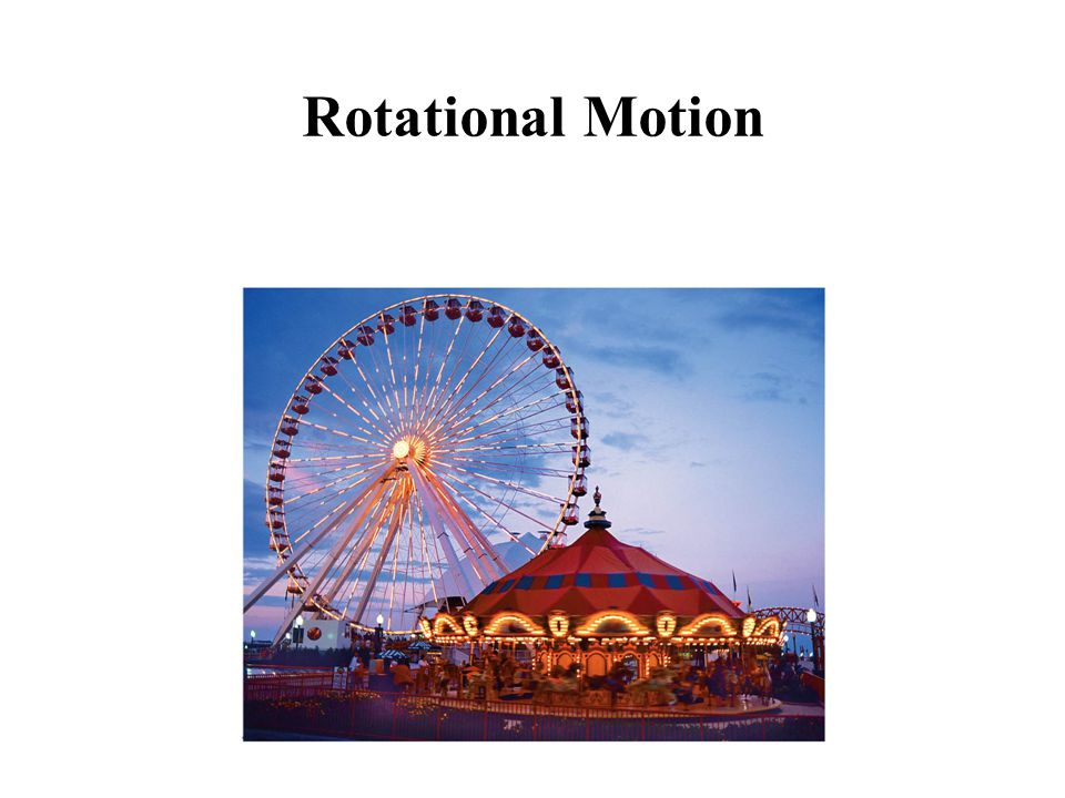 Angular Quantities: Position In purely rotational motion, all points on the object move in circles around the axis of rotation ( O ).