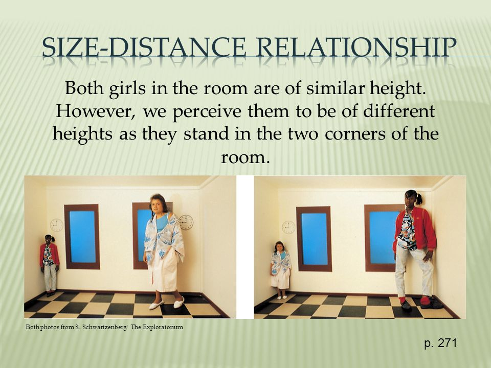 Both girls in the room are of similar height.