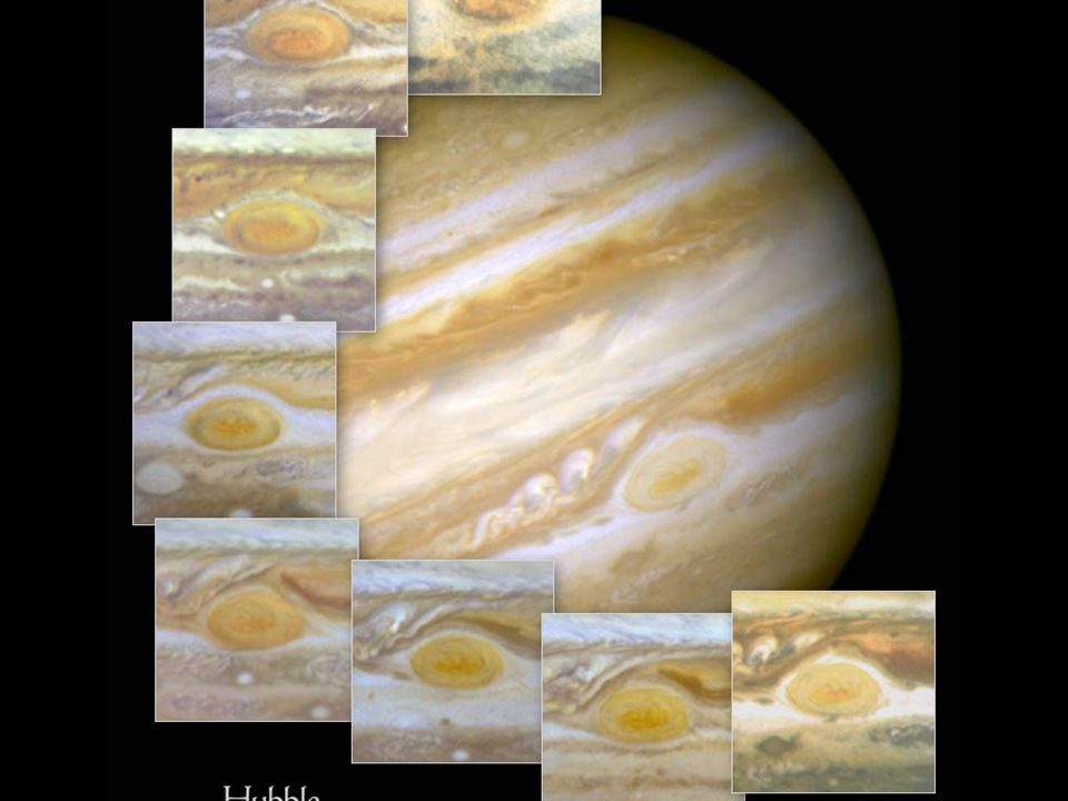 Jupiter redspots