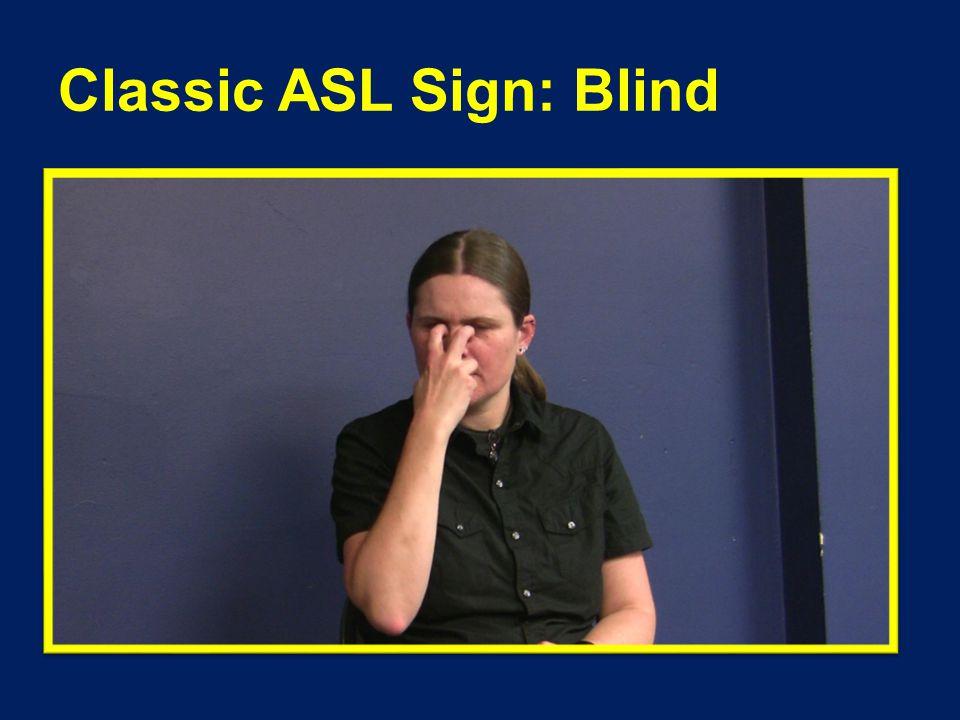 Variation used by DB Community : Blind