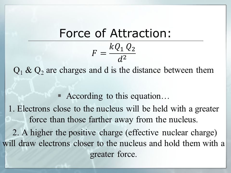 IONIZATION ENERGY (I.E.)  Low ionization energy is good for making ions.