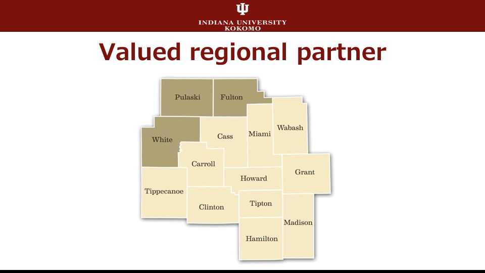 Valued regional partner