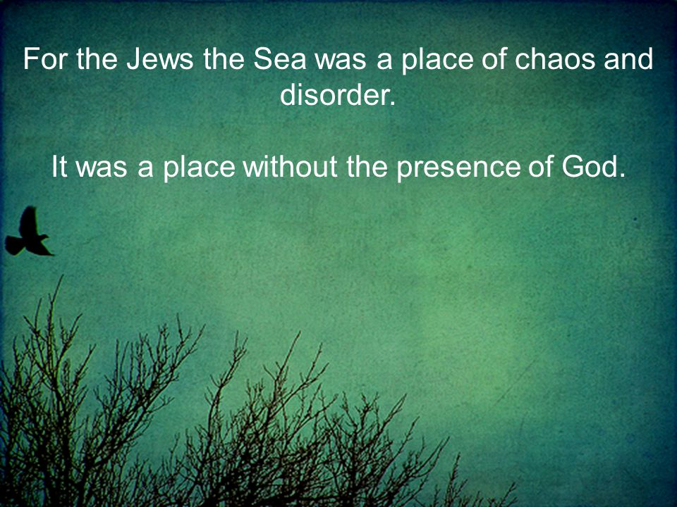 It was a place without the presence of God.