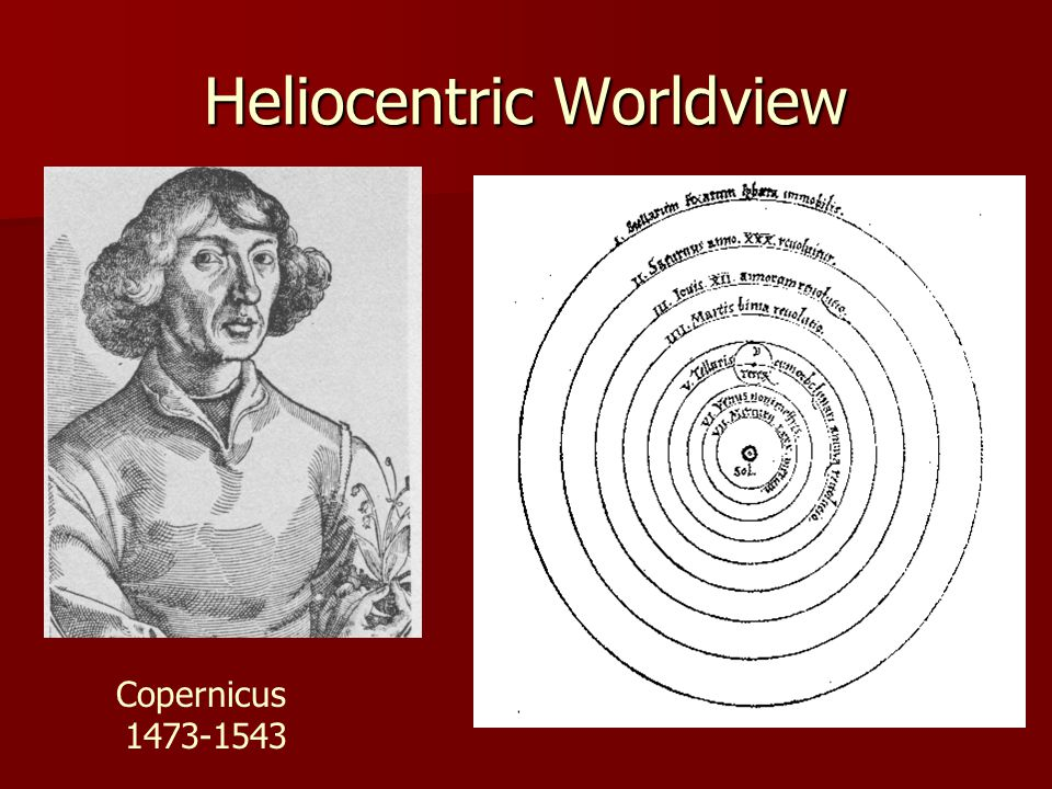 Heliocentric Worldview Copernicus 1473-1543