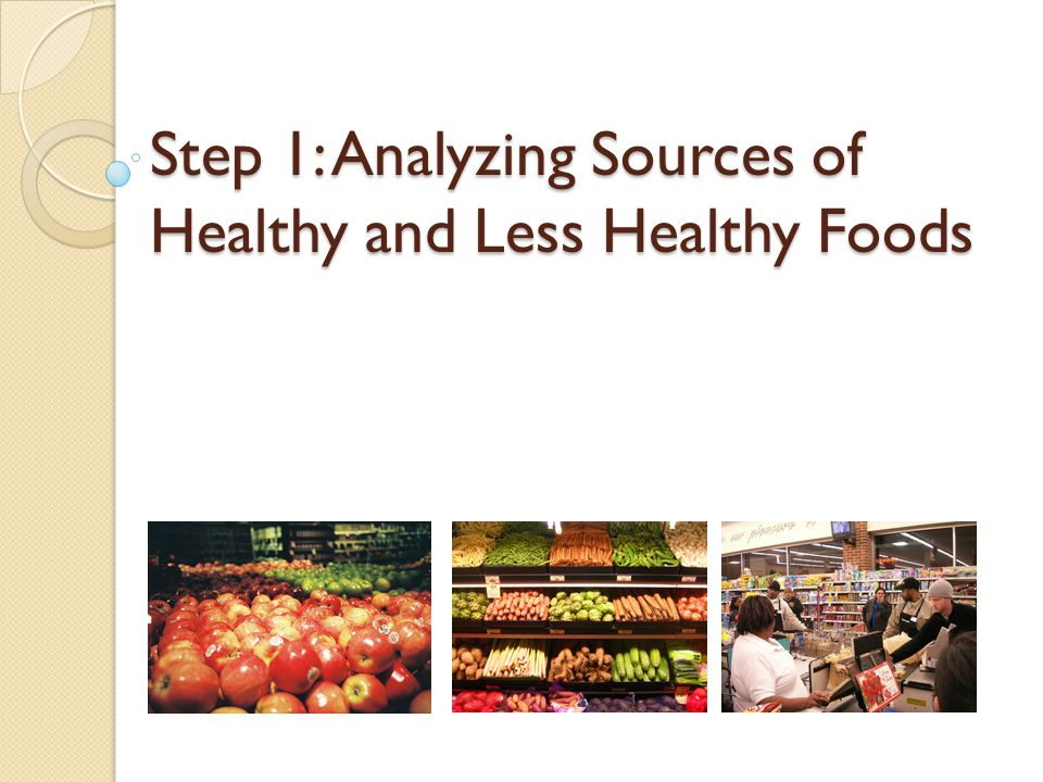 Sources of Healthy Food - Supermarkets City of Sacramento Rancho Cordova Elk Grove Citrus Heights