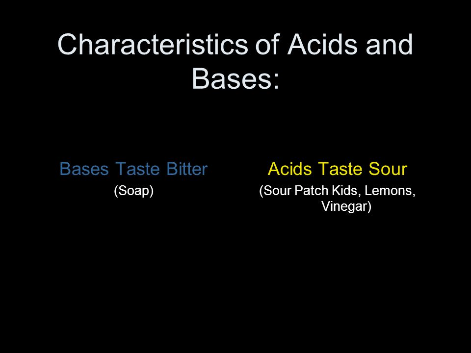 Weak Acids and Bases Do not completely dissociate Are still dangerous energetic solutions More common in nature Acetic Acid (vinegar) Citric Acid (lemon jucie) Found in buffered solutions Have pHs closer to 7 at higher solution concentrations