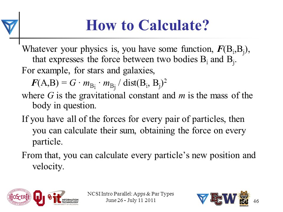 46 How to Calculate.