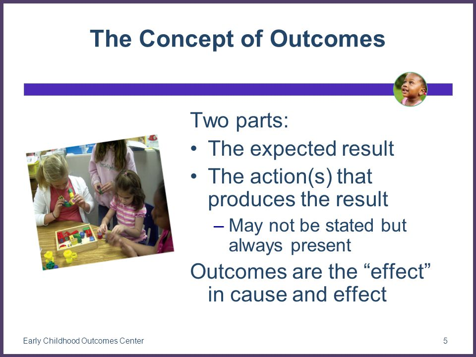 Why do we care about outcomes for young children.