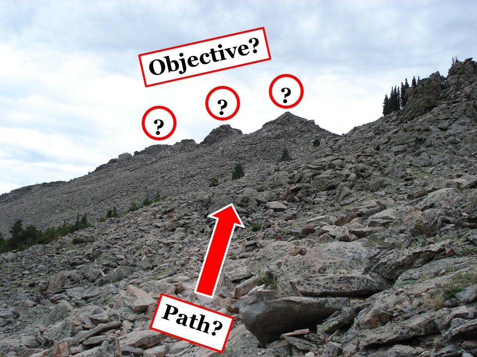 Path Objective