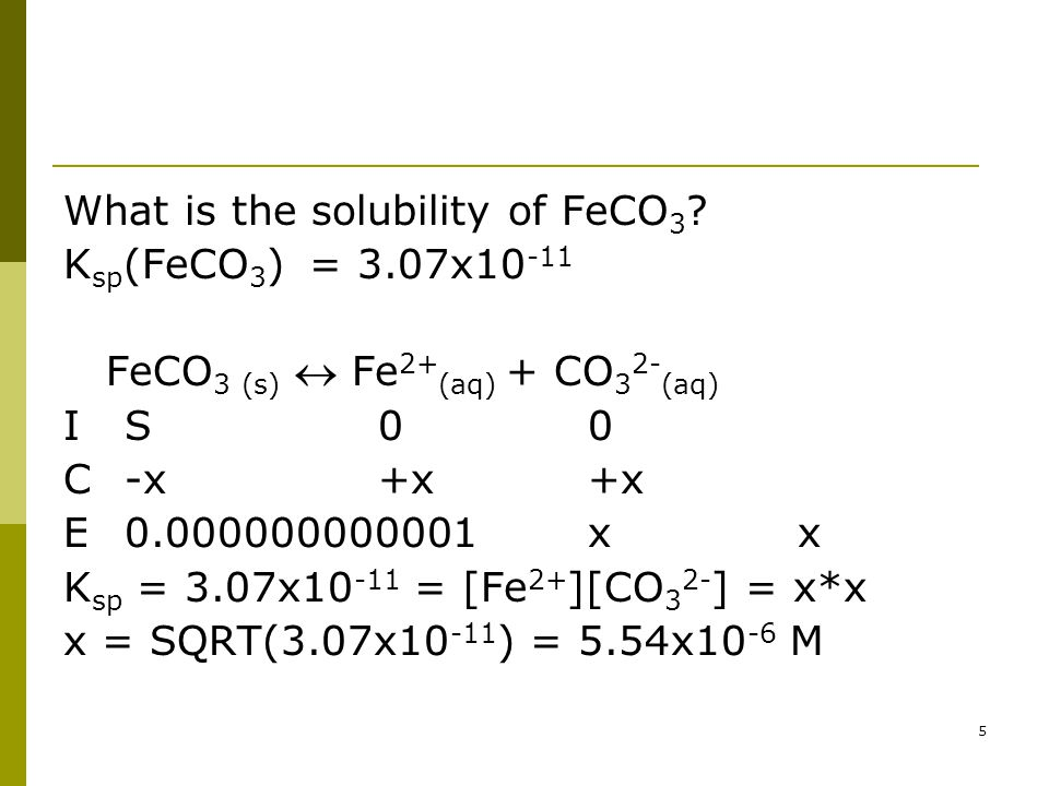 The solubility of FeBr 2 in pure water is 1.2 g/100 mL at 298 K.