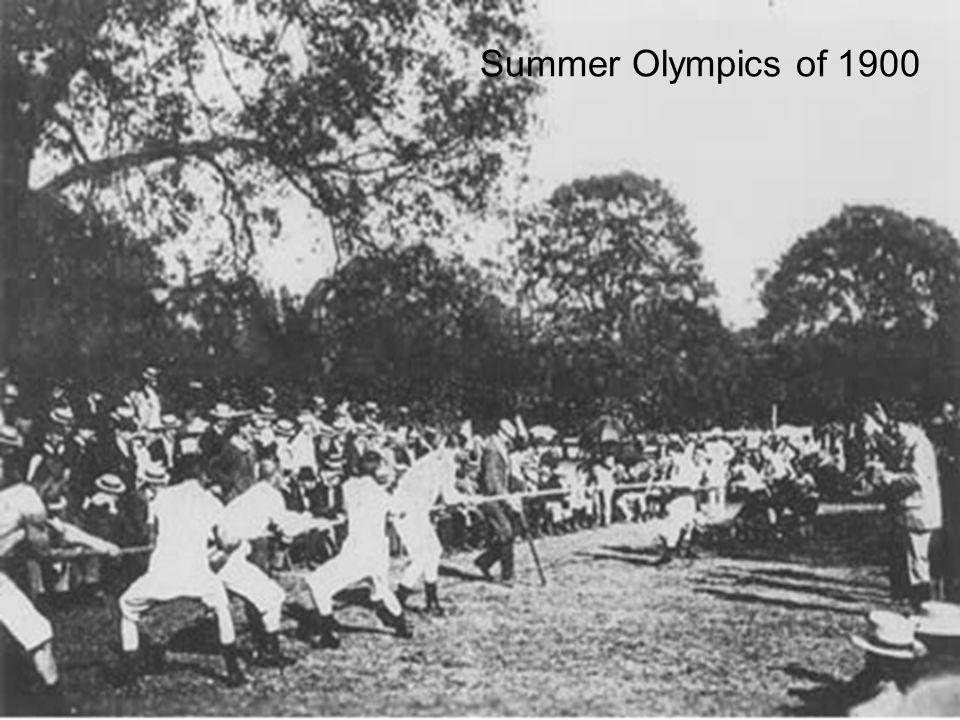 Summer Olympics of 1900