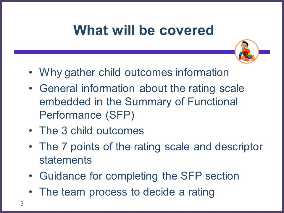 Early Childhood Outcomes Center104