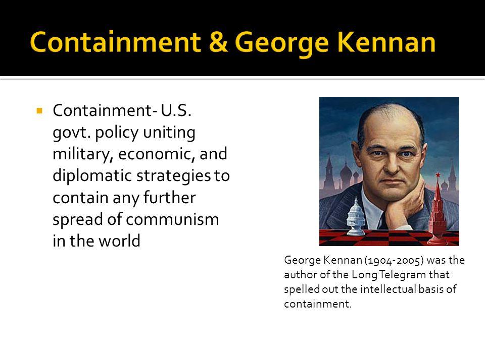  Containment- U.S. govt.