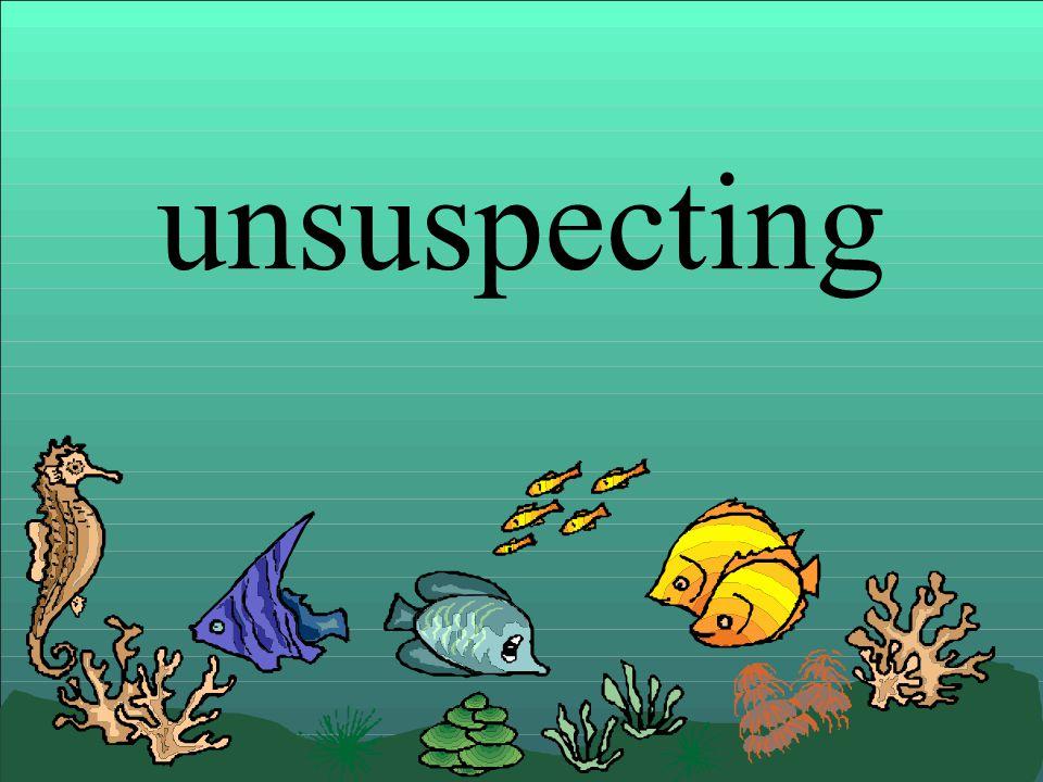 unsuspecting