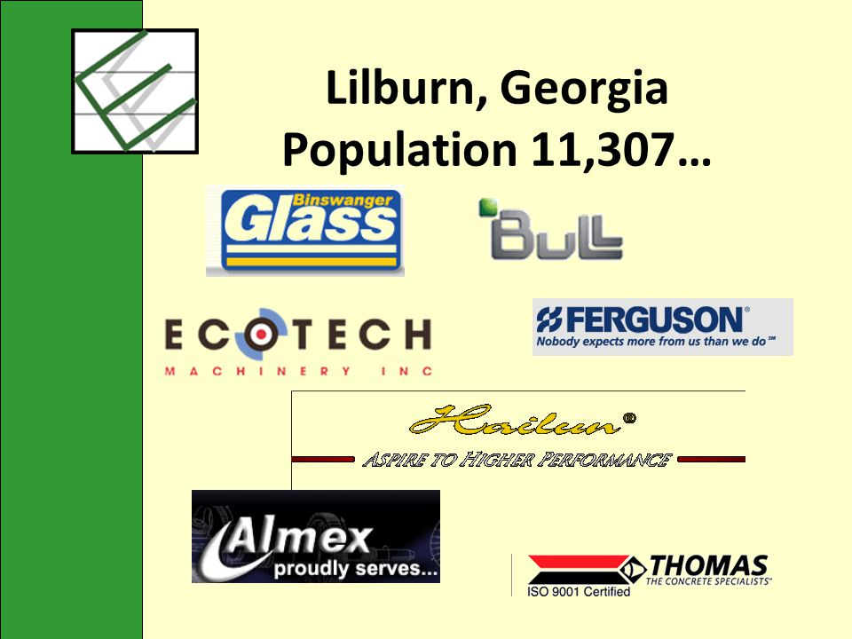 Lilburn, Georgia Population 11,307…