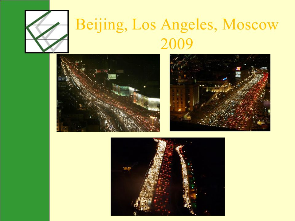 Beijing, Los Angeles, Moscow 2009