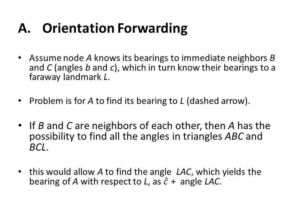 A.Orientation Forwarding