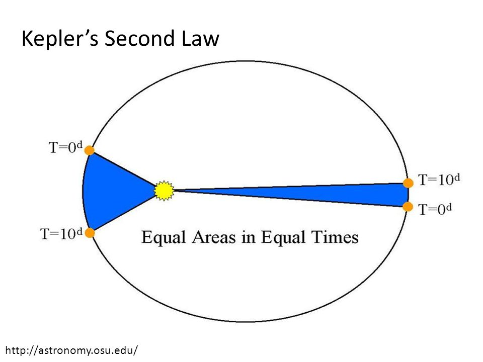 Kepler's Second Law http://astronomy.osu.edu/