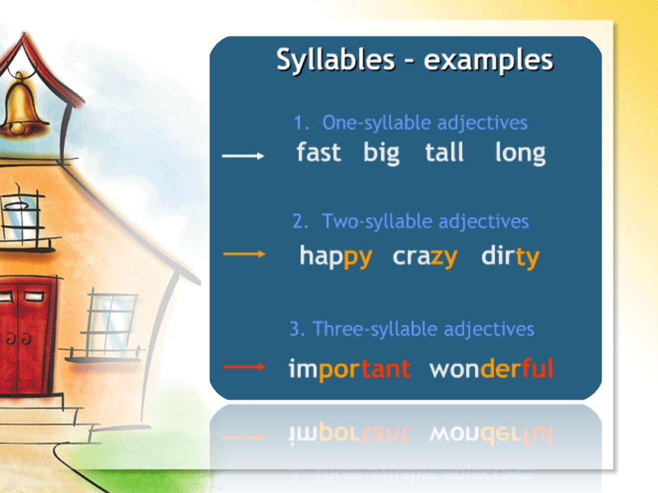 How do we make a Comparative? Example: A snail is slower than a horse.