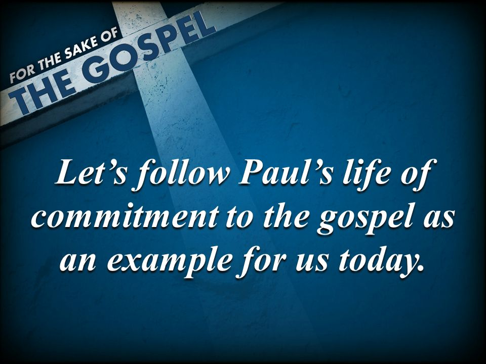 Paul Became a Slave to All Men Paul was free from all men.