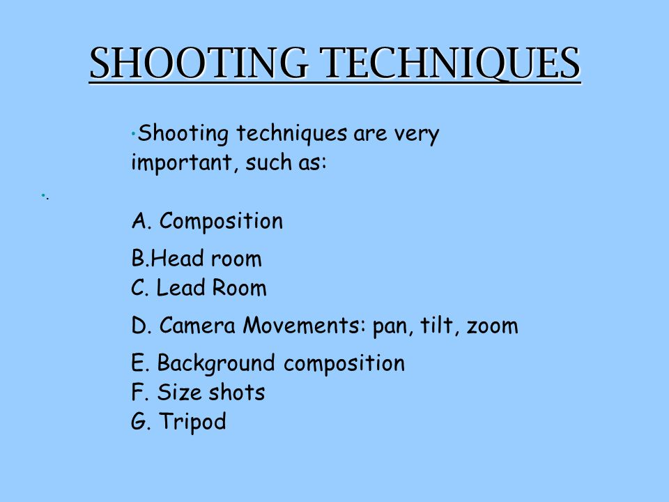 ASSIGNMENT #1 B If you and your group have finished all of the work needed to begin filming but you don't have a camera to use, then you should complete ASSIGNMENT 1B and hand in as part of a quiz mark.