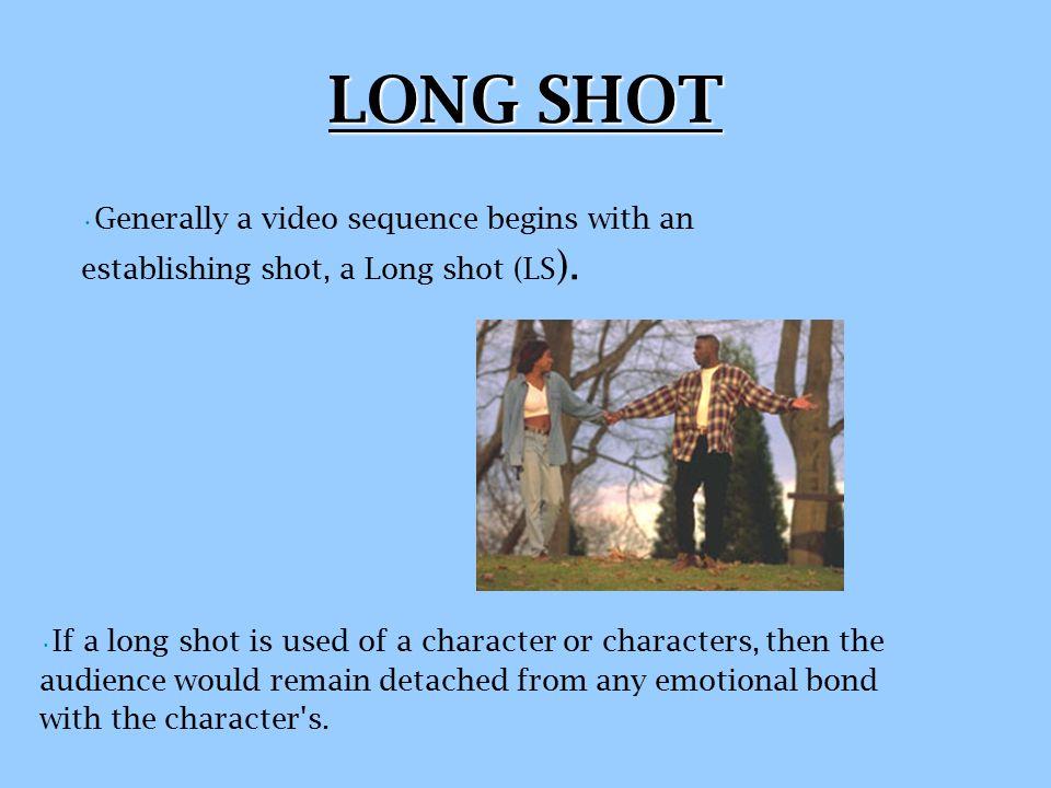 FRAMING A SHOT Camera Shots Camera Shots include; extreme long shots (ELS), long shot (LS), medium shot (MS), medium close-up (MCU), close-up (CU) and extreme close up (ECU
