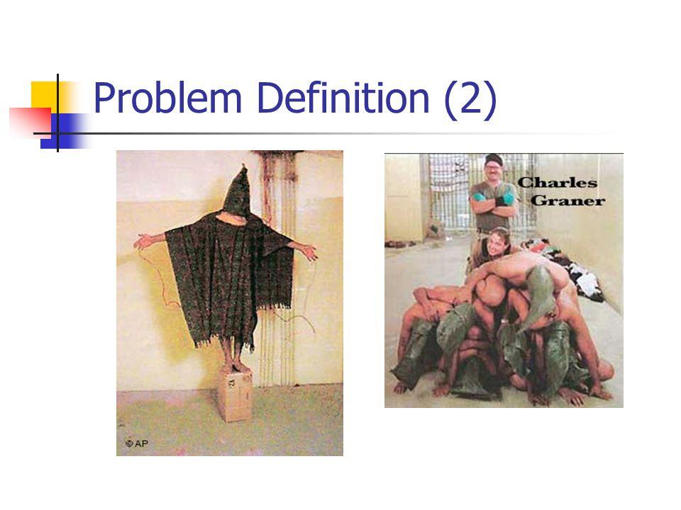 Problem Definition (2)