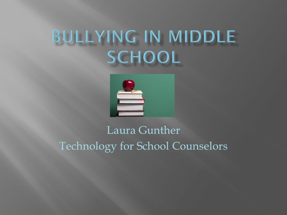 Laura Gunther Technology for School Counselors