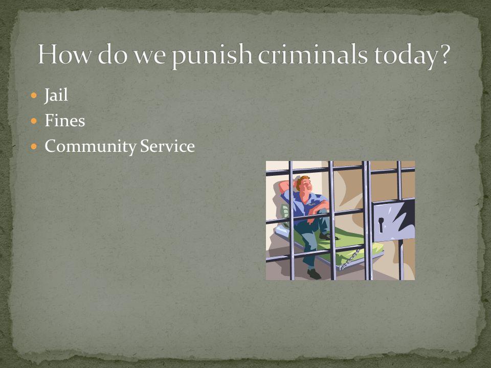 Jail Fines Community Service