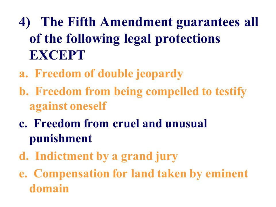 5) States are now prohibited from infringing upon the rights protected by the federal Bill of Rights because of a.