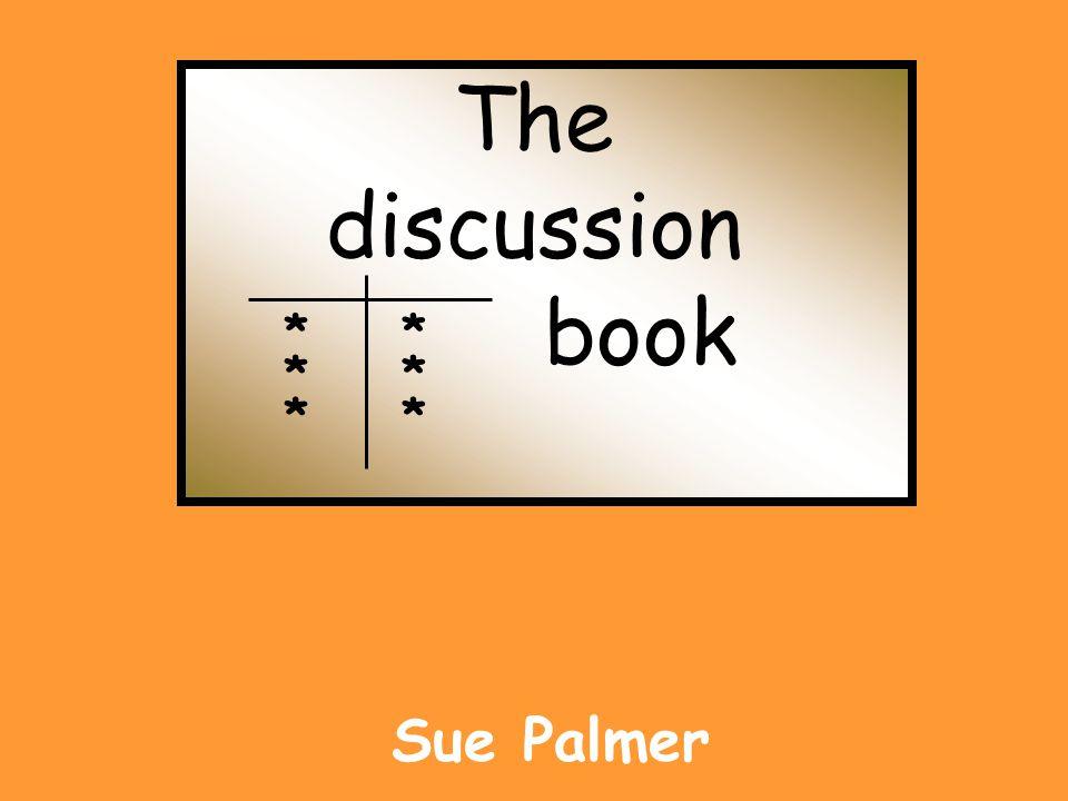 The discussion book Sue Palmer * * * * * *