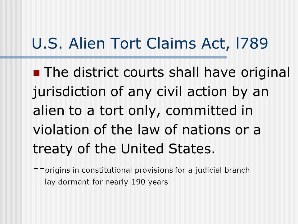 Torture Victim Protection Act, 1992 (U.S.