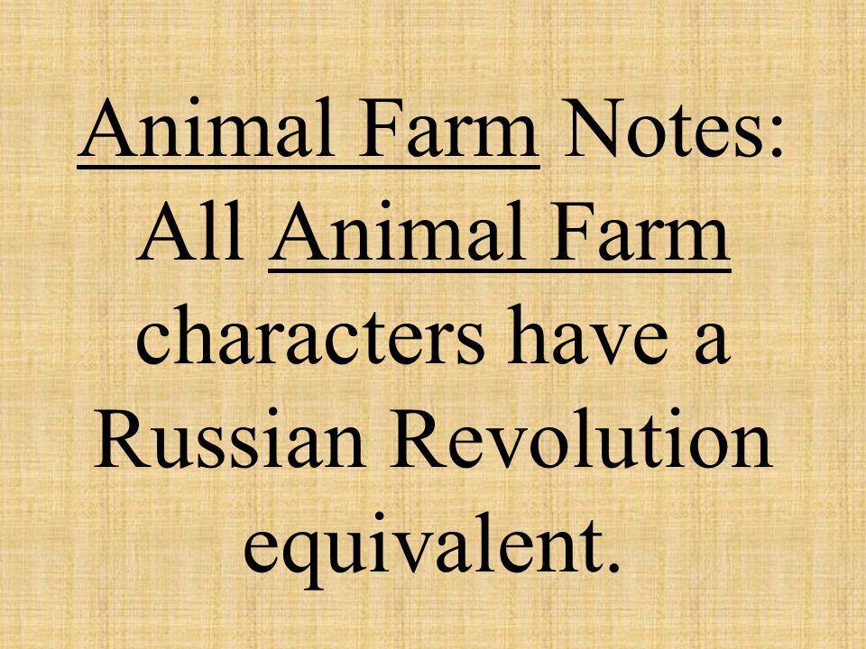 Animal Farm: Russian Revolution: Mr.