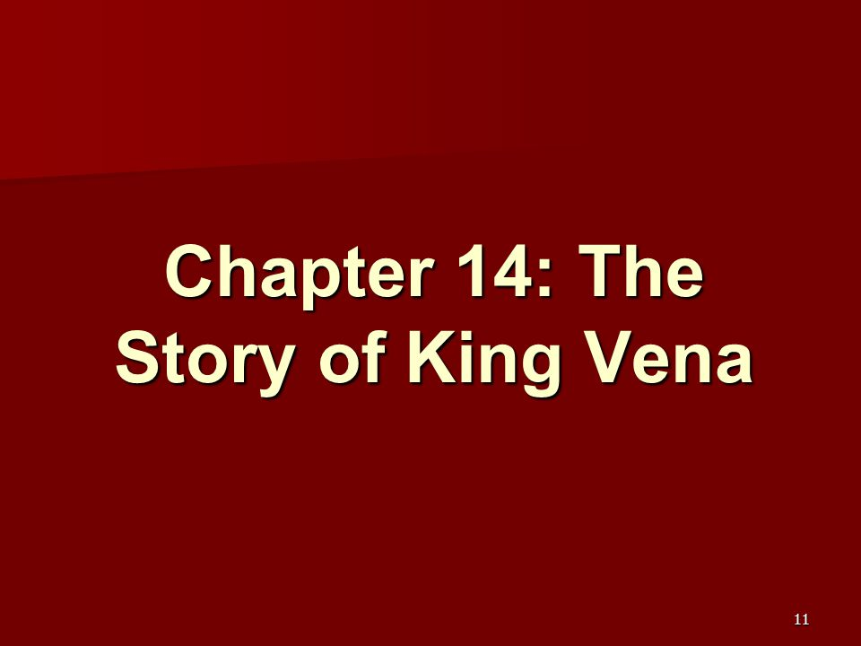 Chapter 14: The Story of King Vena 11