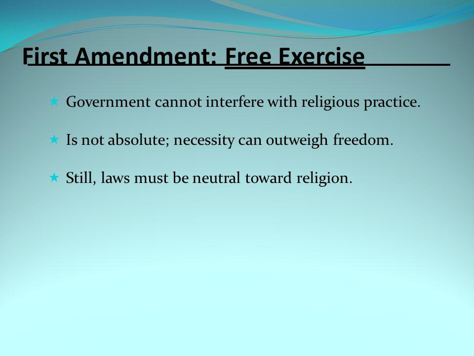 Defendants' Rights