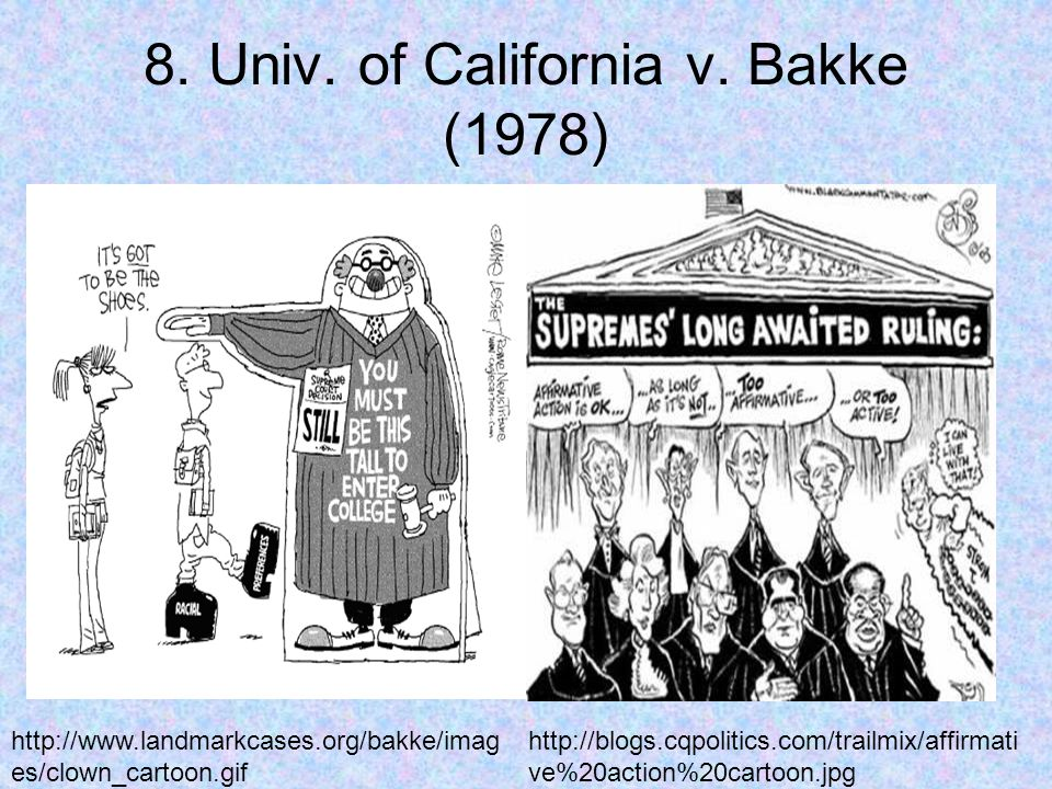 8. Univ. of California v.