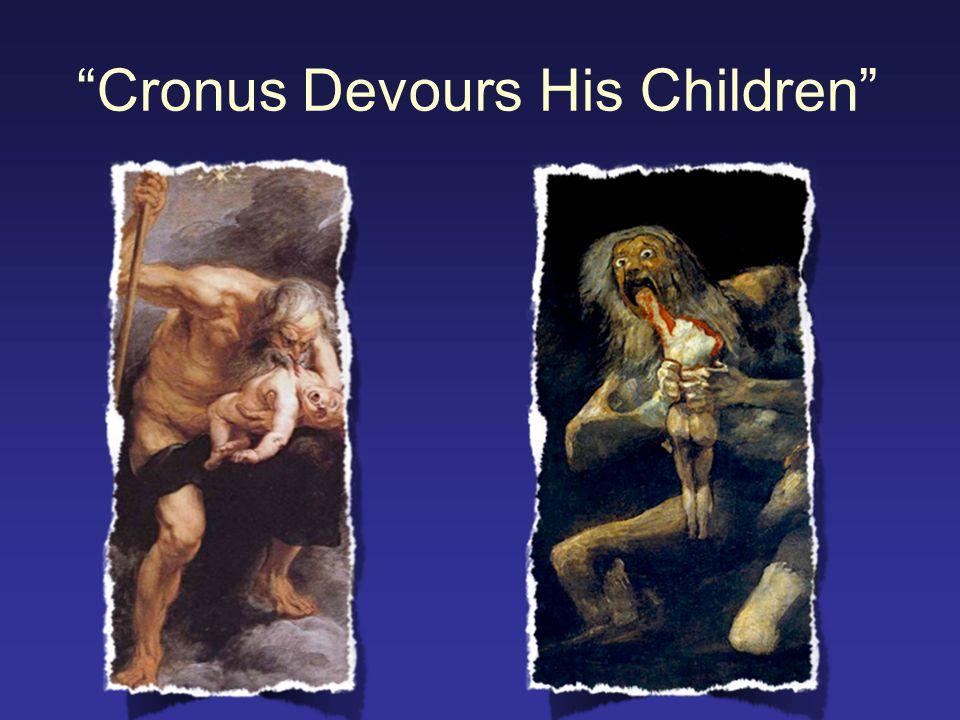 """""""Cronus Devours His Children"""""""