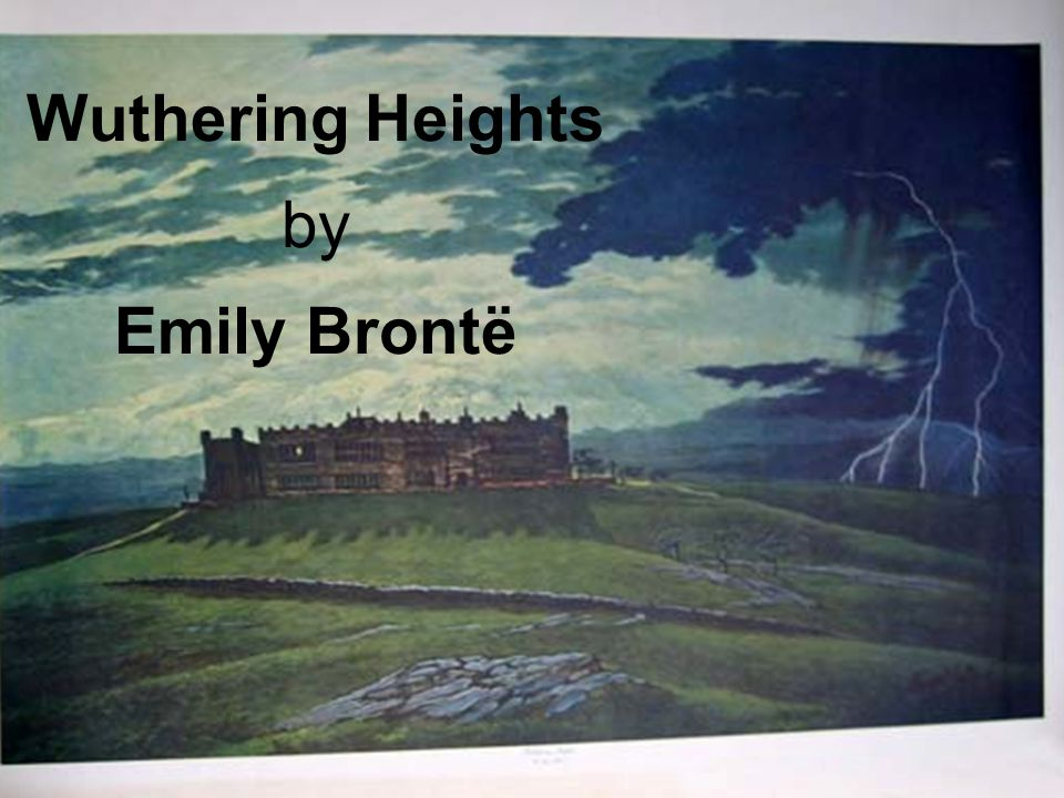 Wuthering Heights Essay Prompts