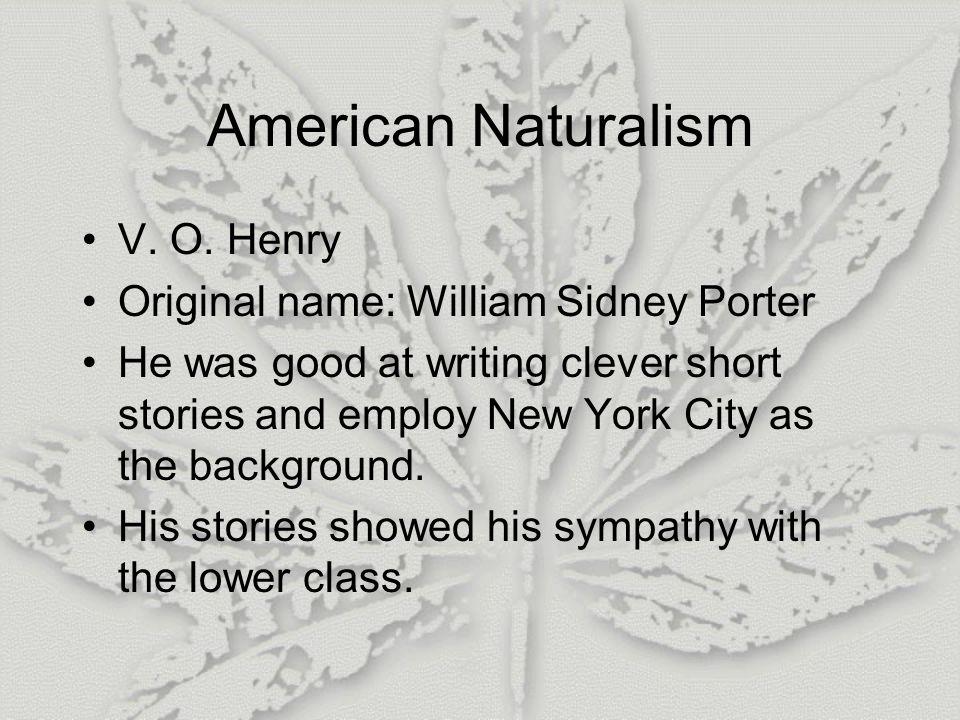 American Naturalism V.O.