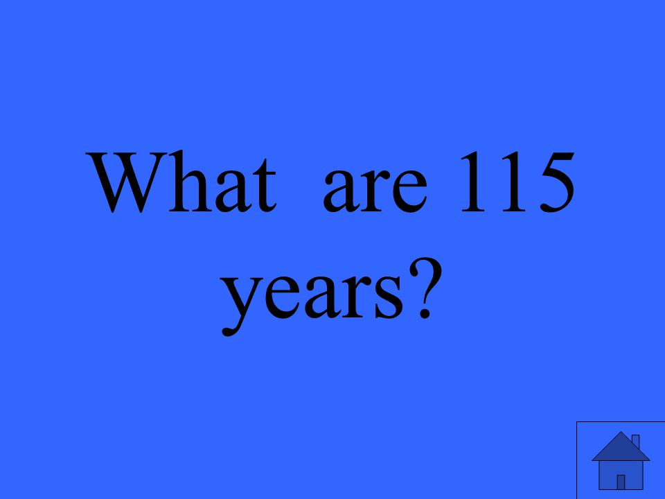 What are 115 years