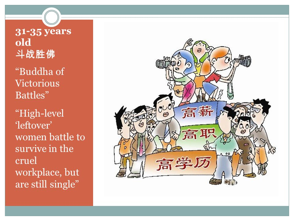 31-35 years old 斗战胜佛 Buddha of Victorious Battles High-level 'leftover' women battle to survive in the cruel workplace, but are still single