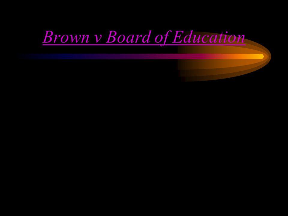 Swann v Charlotte Description (Key Question) –Is Busing to desegregate schools Constitutional.