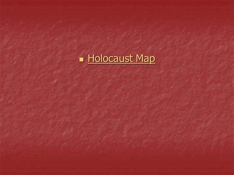 Holocaust Map Holocaust Map Holocaust Map Holocaust Map