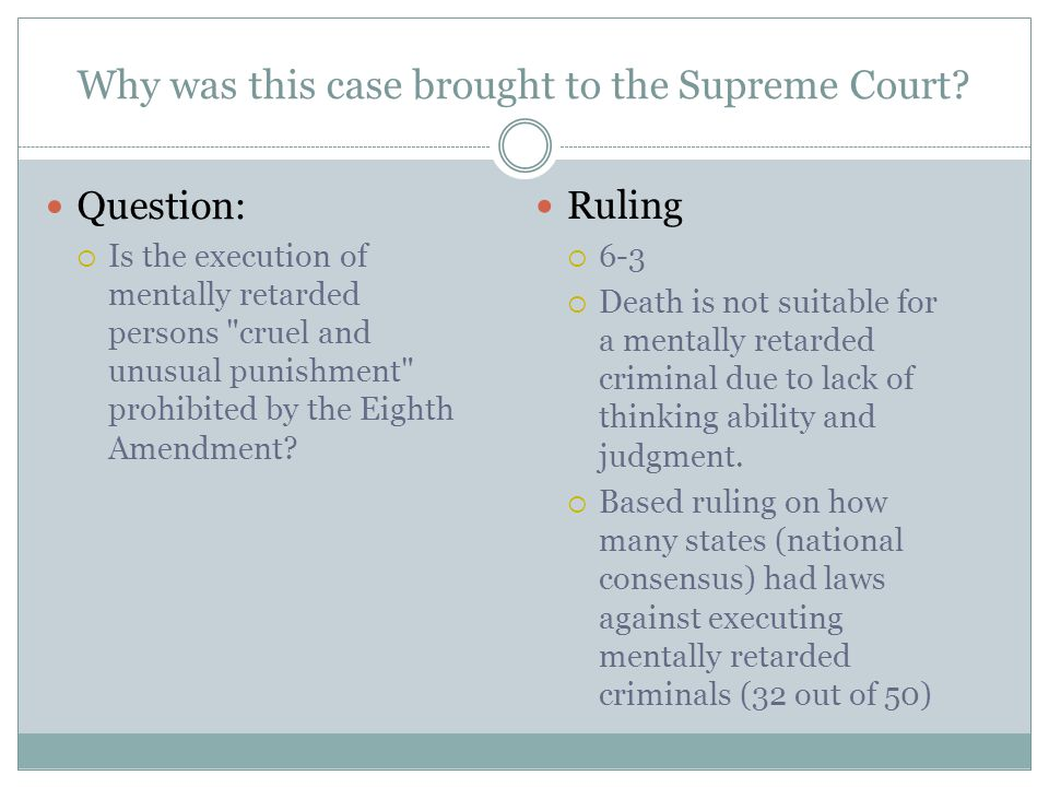 How did this case change how we understand or interpret the Constitution/Amendments.