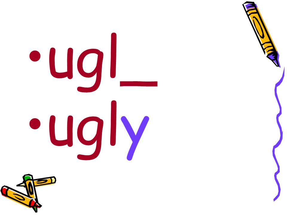 ugl_ ugly