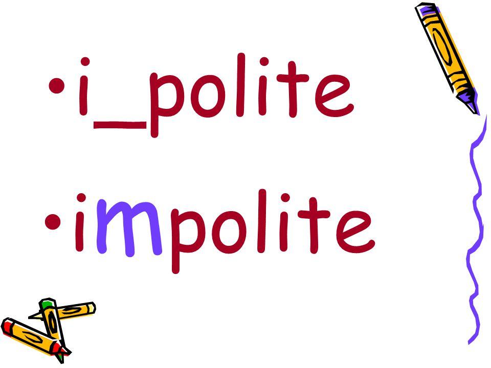 i_polite i m polite